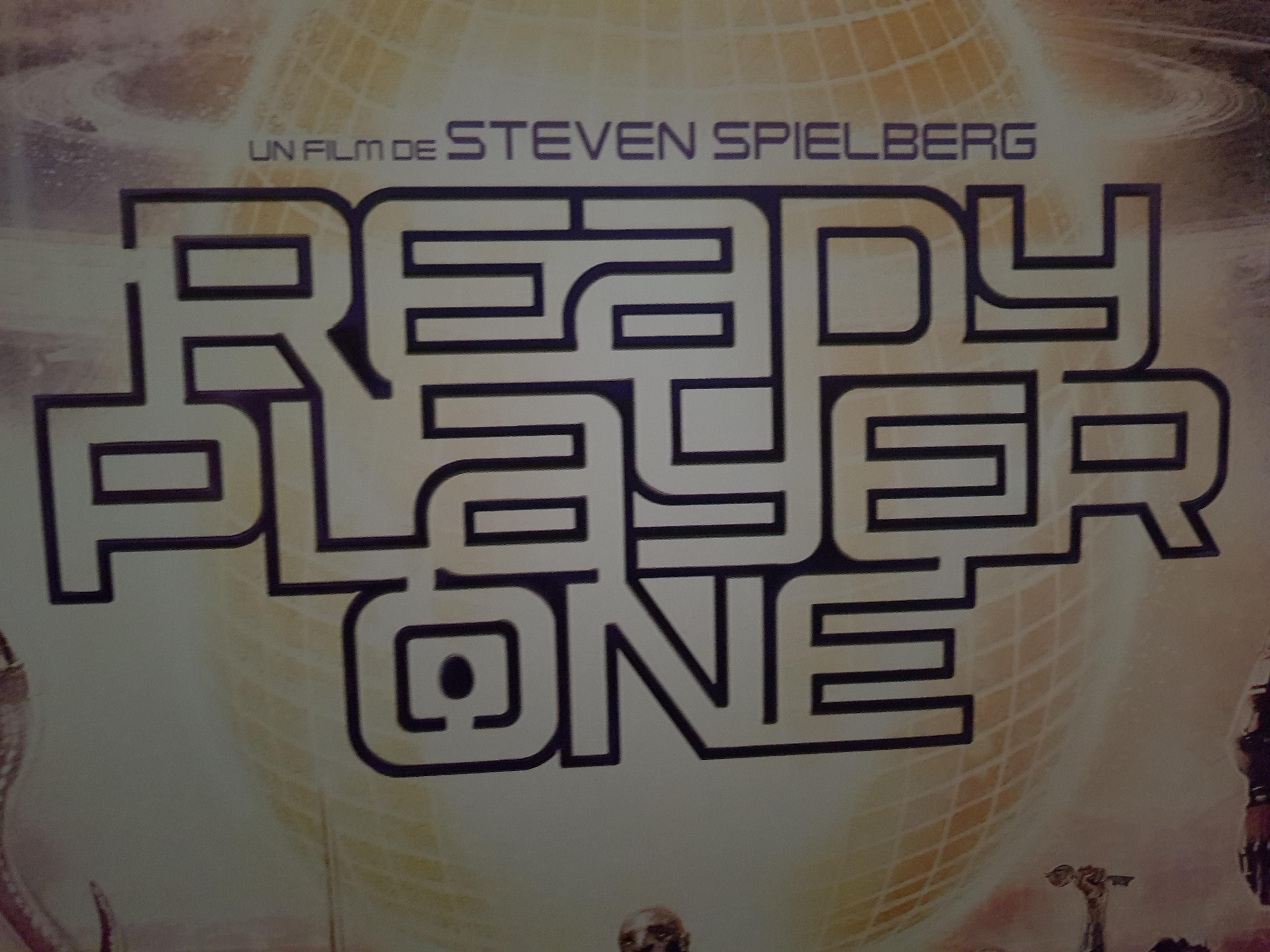 READY PLAYER ONE Movie PHOTO Print POSTER Textless Film Art Steven Spielberg 001