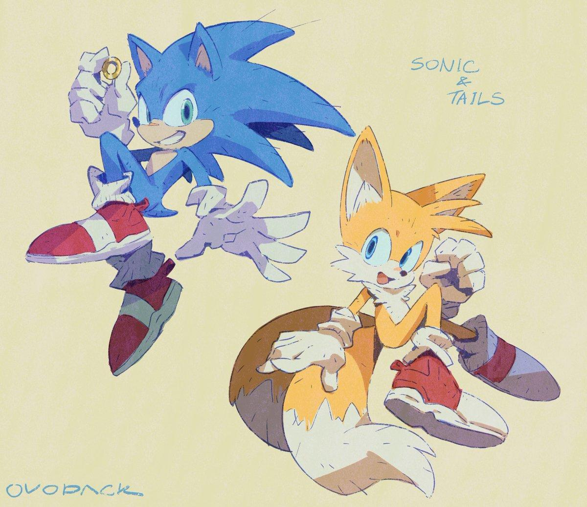 New Sonic Draws Involuntarily I Want To See A Buddy Movie With Tales That I Haven T Seen Yet Sonic The Hedgehog Know Your Meme