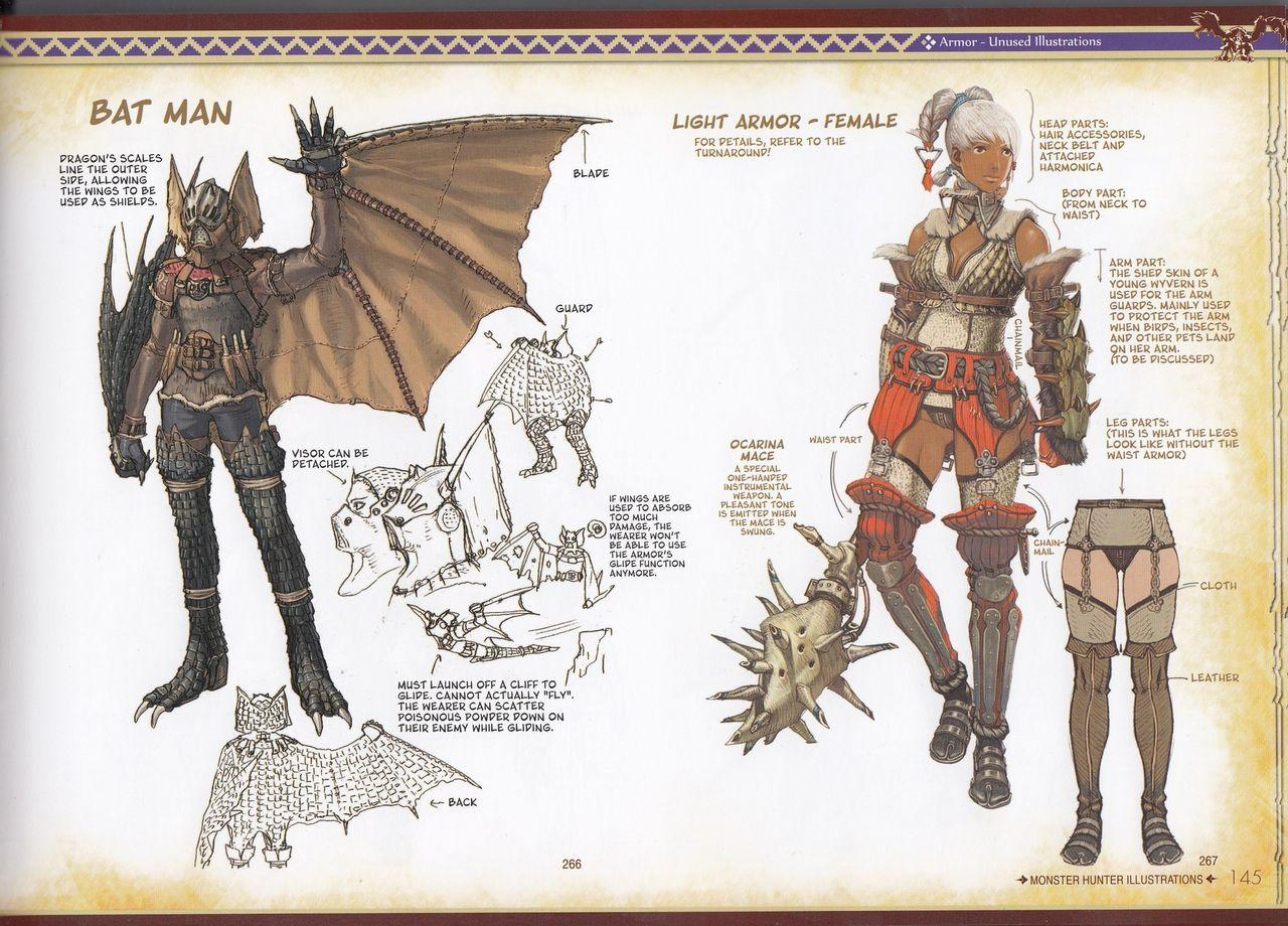 Bat Armor Concept Monster Hunter Know Your Meme