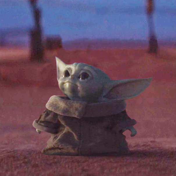 In case you thought Baby Yoda can\u0027t be any more cute