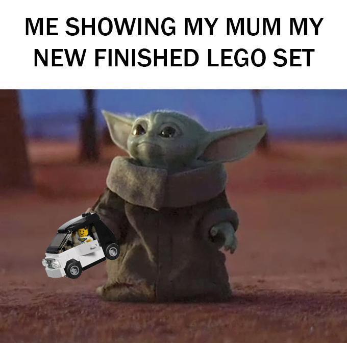 My New Lego R Babyyoda Baby Yoda Know Your Meme
