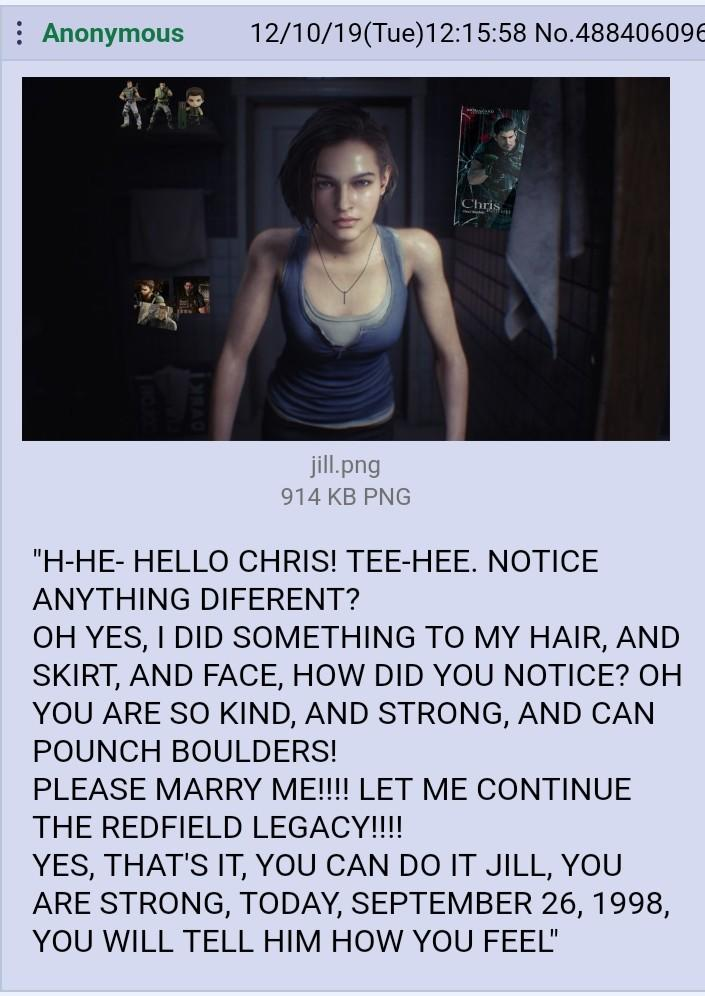 You Ve Got This In The Bag Jill Resident Evil 3 Remake Know