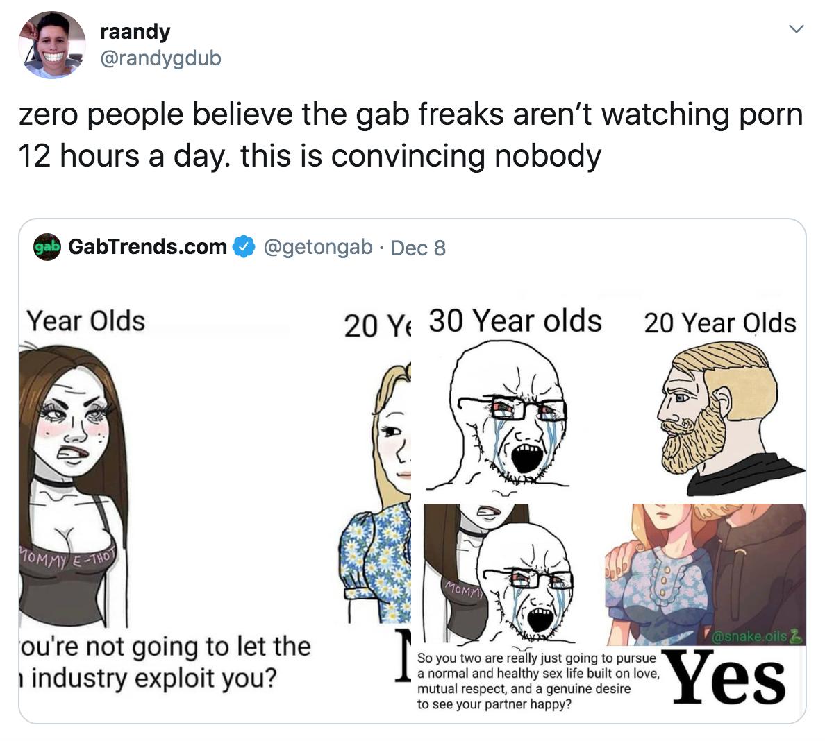 Anormal Porn randygdub   gab's anti-porn memes   know your meme