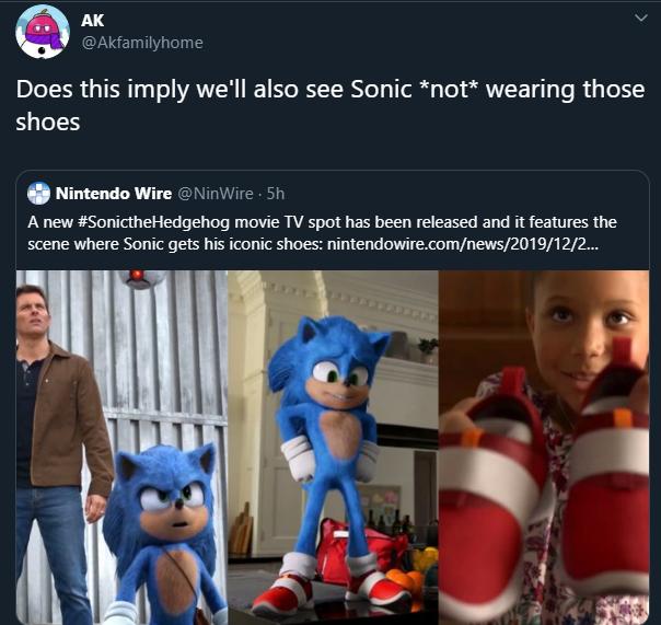 Feetsies Sonic The Hedgehog 2020 Film Know Your Meme