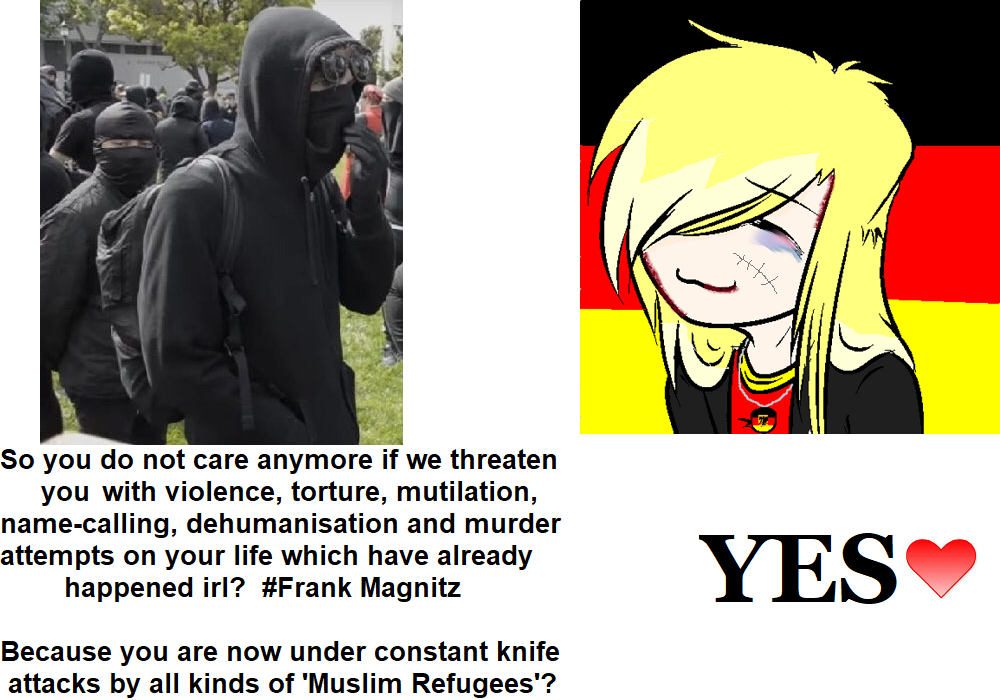 Yes Meme Antifa Vs Germany Yes Chad Know Your Meme