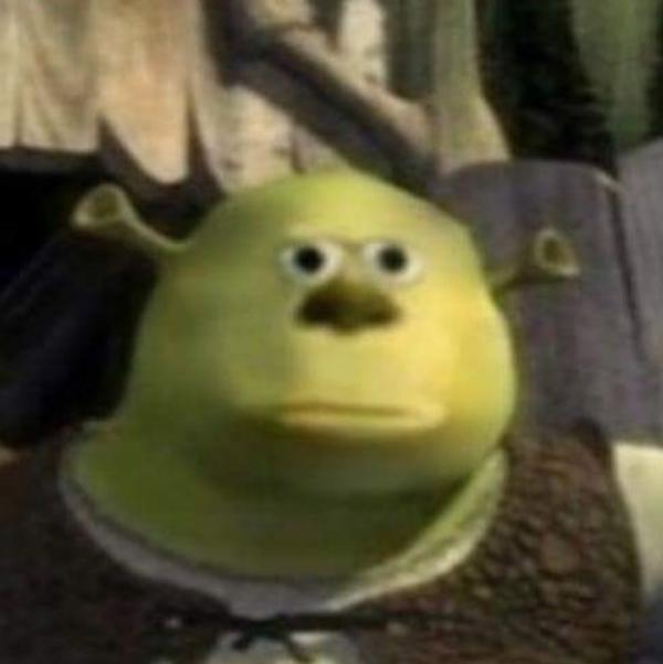 Mike Shrek Mike Wazowski Sulley Face Swap Know Your Meme