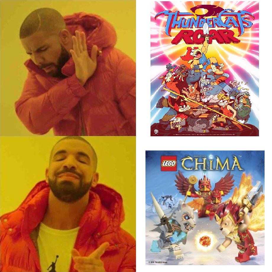 Lego Made A Better Thundercats Cartoon Thundercats Roar Know Your Meme