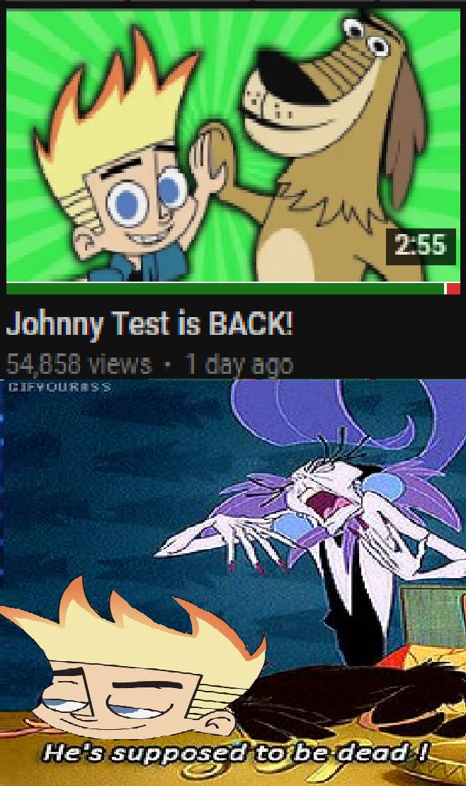 Johnny Test Memes