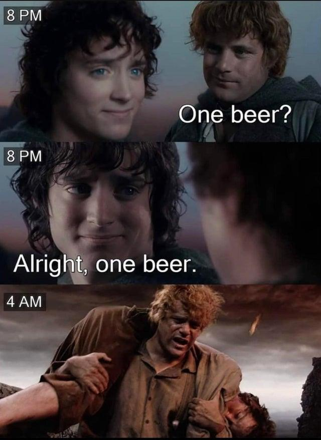 It S Never Just One Lord Of The Rings Know Your Meme