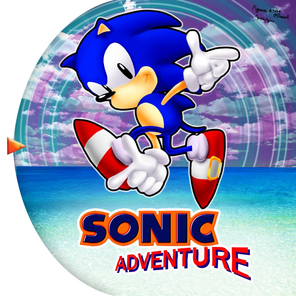 Sonic Adventure Classic Style Sonic Adventure Pose Know Your Meme
