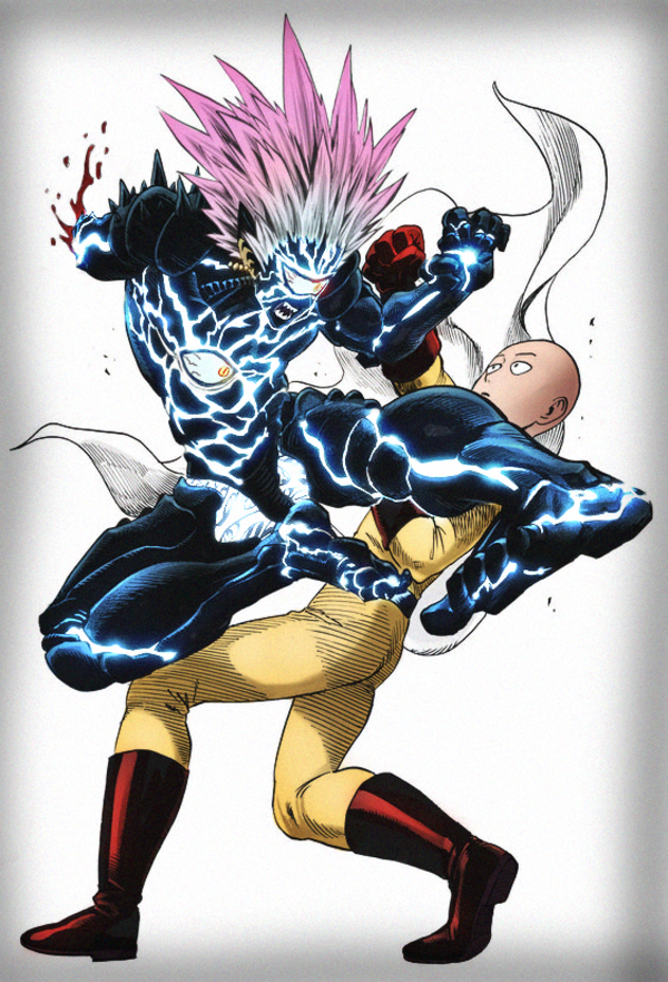 Saitama Vs Boros Colored R Onepunchman One Punch Man Know Your Meme