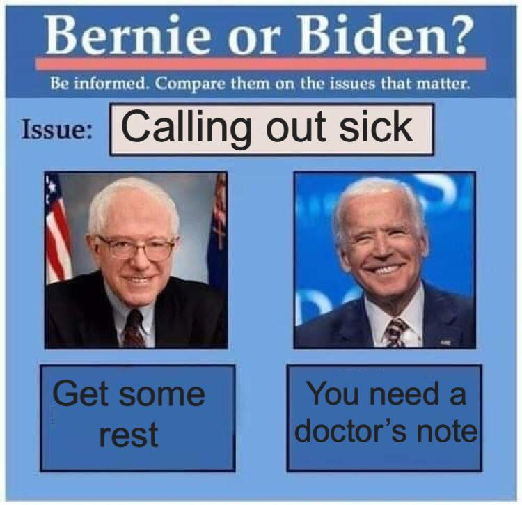 Biden Bernie Or Hillary Know Your Meme