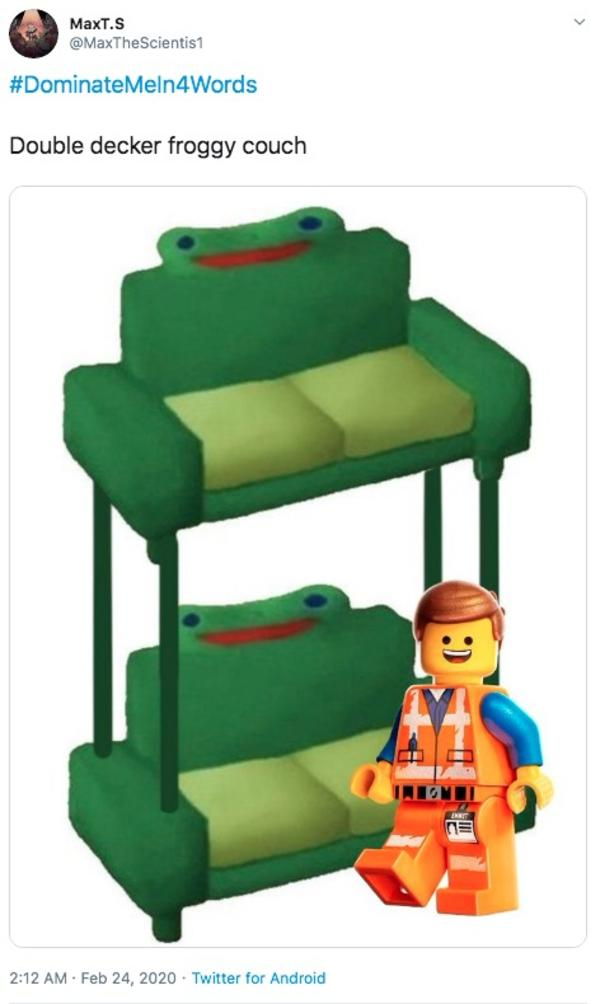 Froggy Chair Dominatemein4words Know Your Meme
