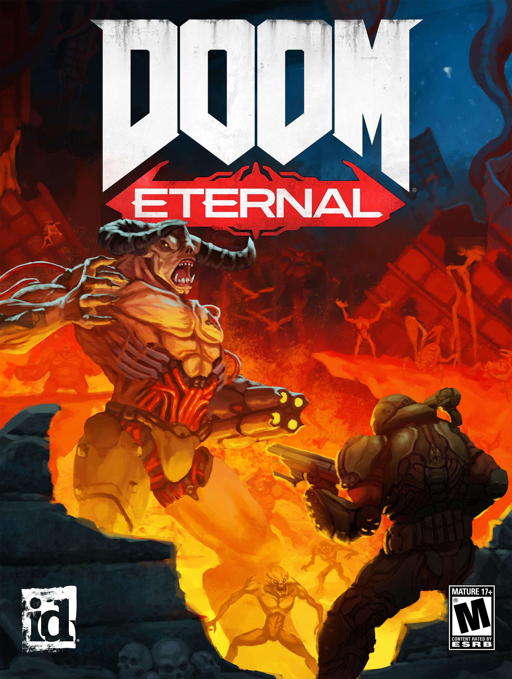 Doom Ii Style Cover Doom Eternal Know Your Meme