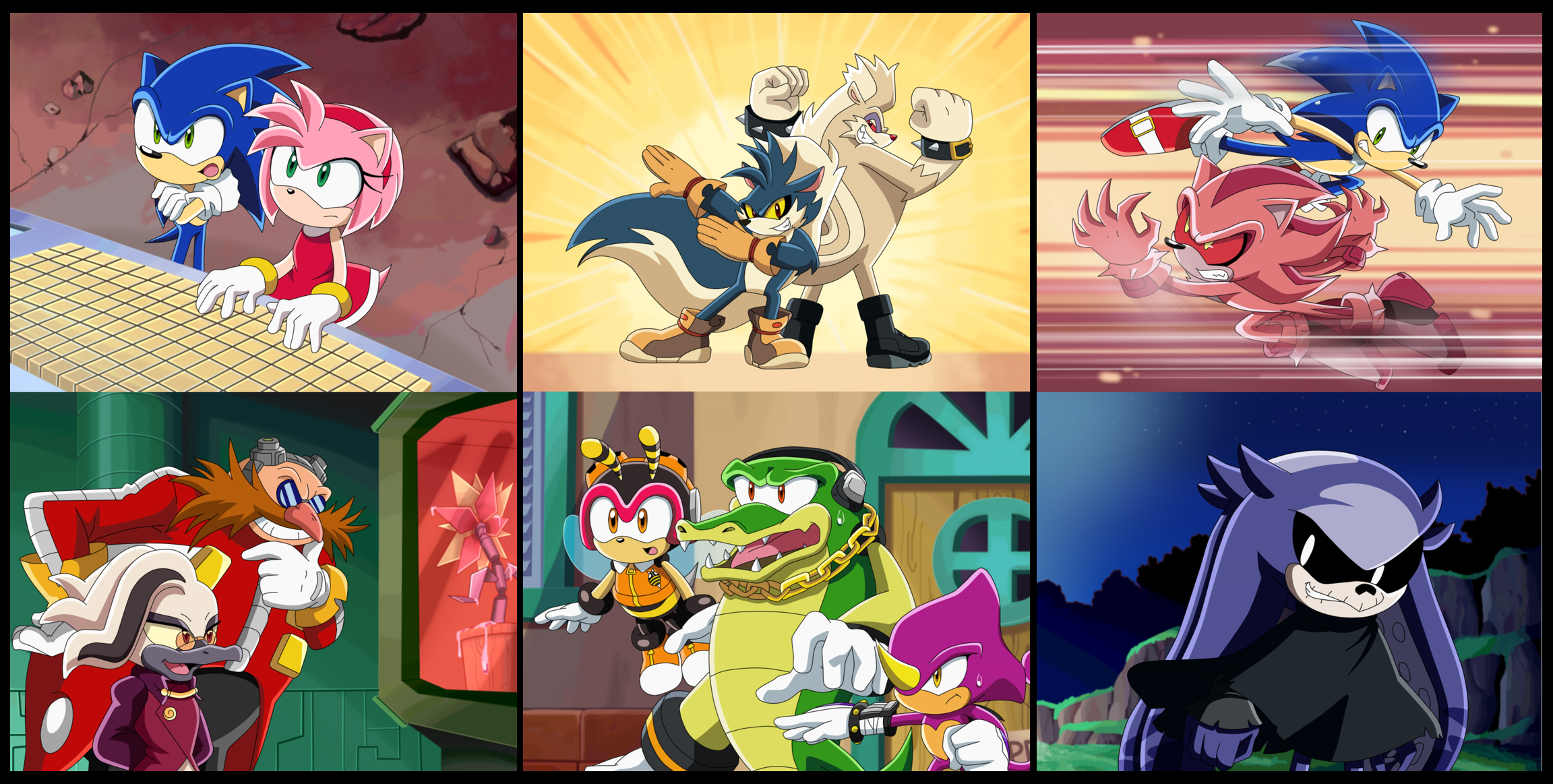Some Scenes From Idw Comic In Sonic X Style Sonic The Hedgehog Know Your Meme
