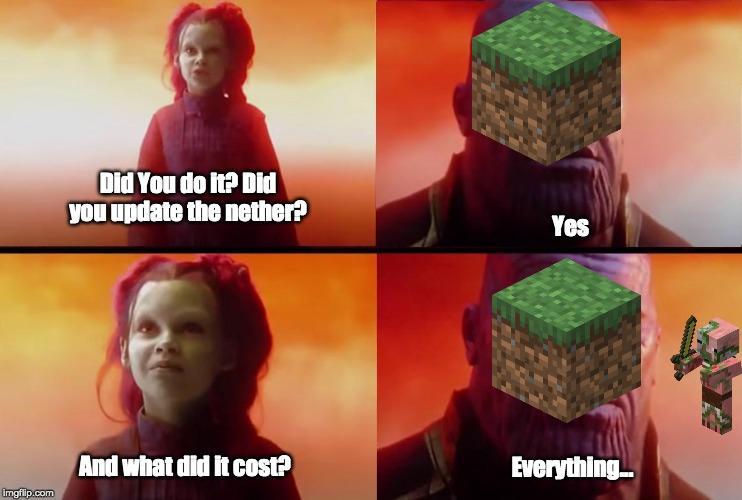 R I P Zombie Pigman R Minecraftmemes Minecraft Know Your Meme