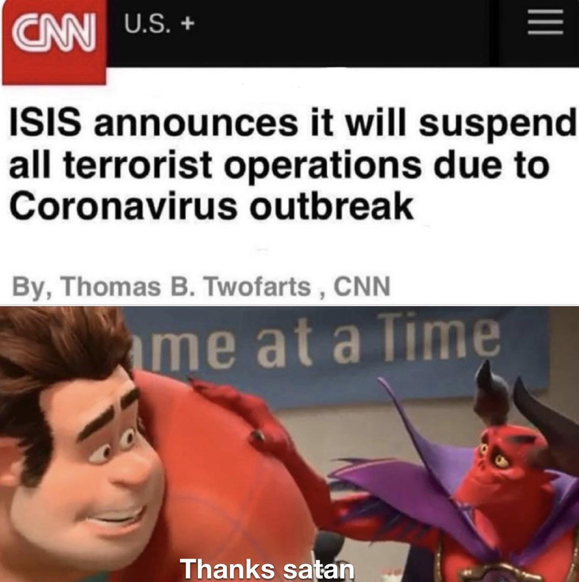 Thanks Satan R Memes 2019 20 Coronavirus Outbreak Know Your