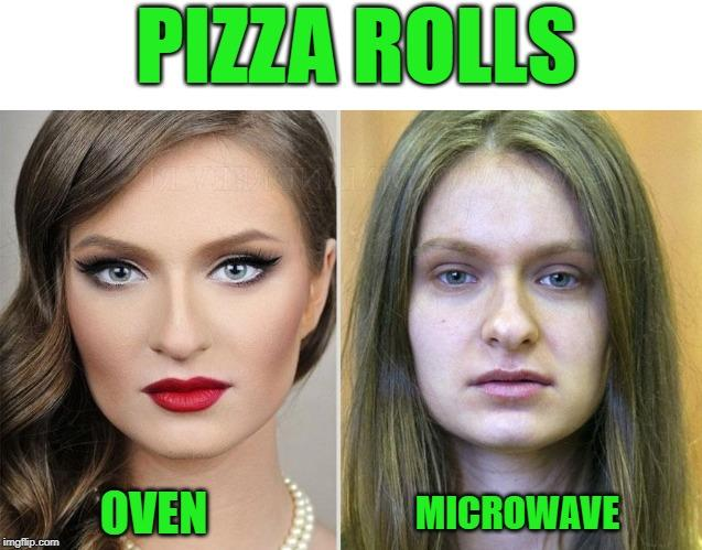 Pizza Rolls Oven Microwaves Pizza Rolls In The Oven Vs Pizza