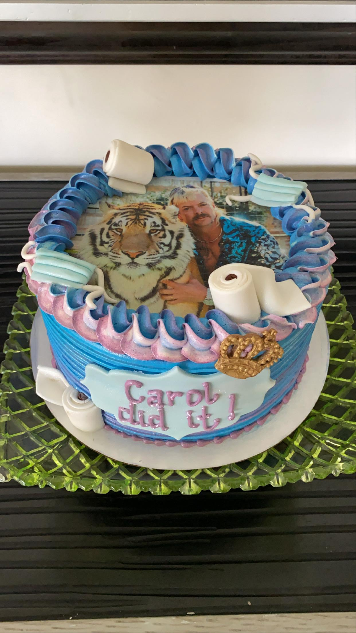 Amazing So My Friend Is Having Her Birthday Tonight R Tigerking Tiger Funny Birthday Cards Online Overcheapnameinfo