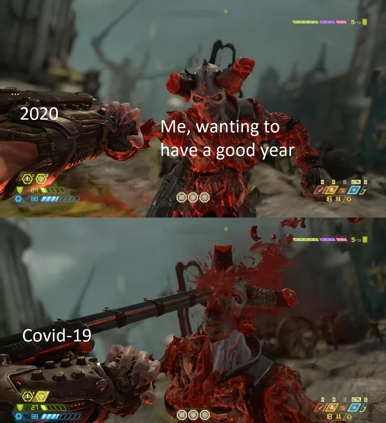 Doom Eternal Has Some Top Tier Meme Potential Marauder Know