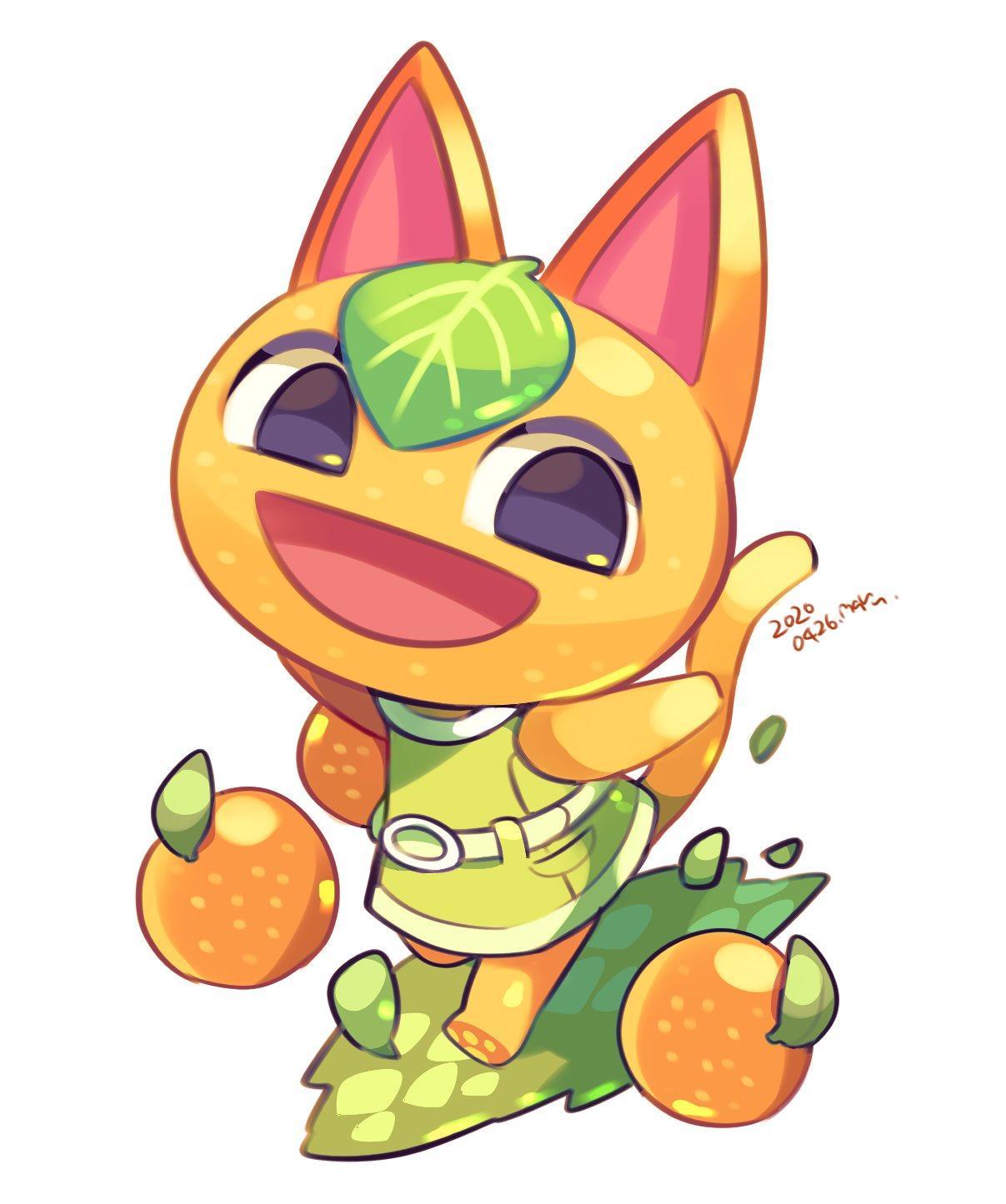 cute animal crossing characters cat
