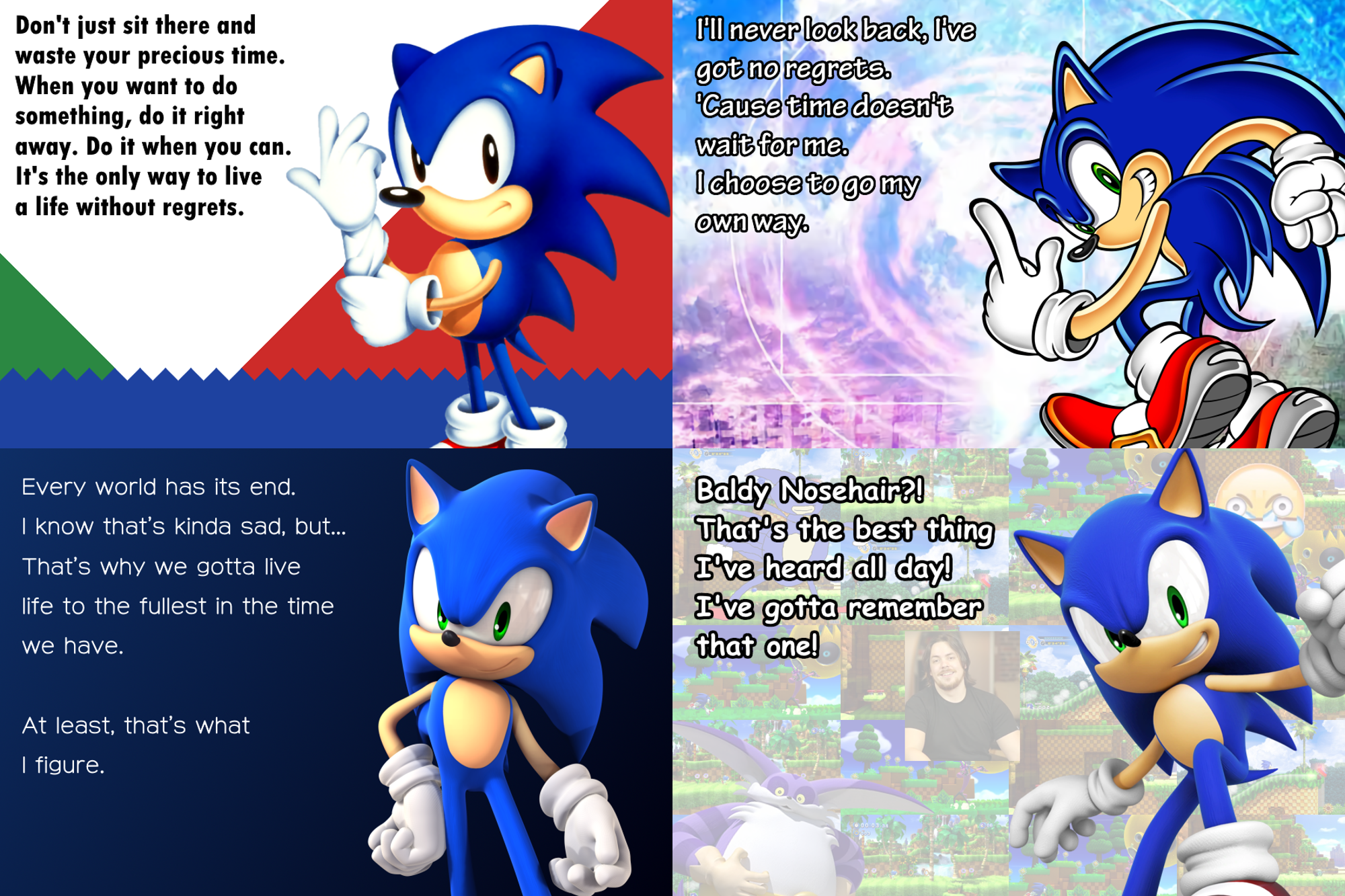 Sonic Quotes Over The Years Sonic The Hedgehog Know Your Meme