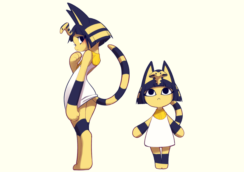 Ankha The Cat Animal Crossing Know Your Meme