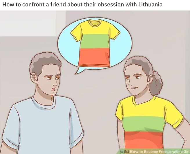 Lithuania Wikihow Know Your Meme