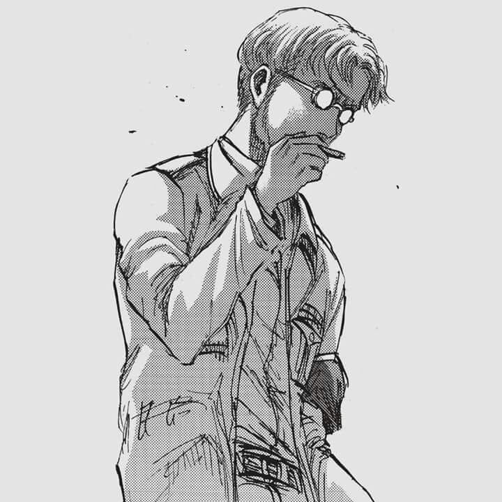 Zeke Smoking Attack On Titan Shingeki No Kyojin Know Your Meme