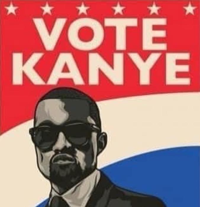 Vote for Kanye West