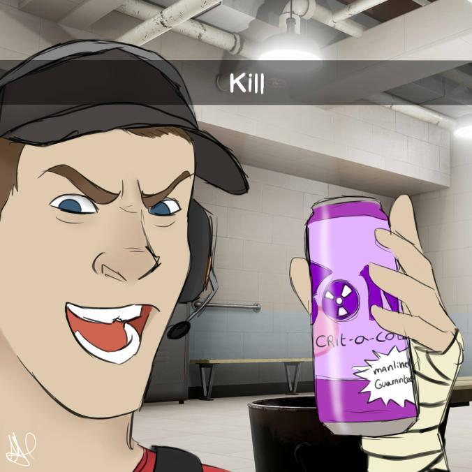 Scout Team Fortress 2 Snapchat Kill Guy Know Your Meme