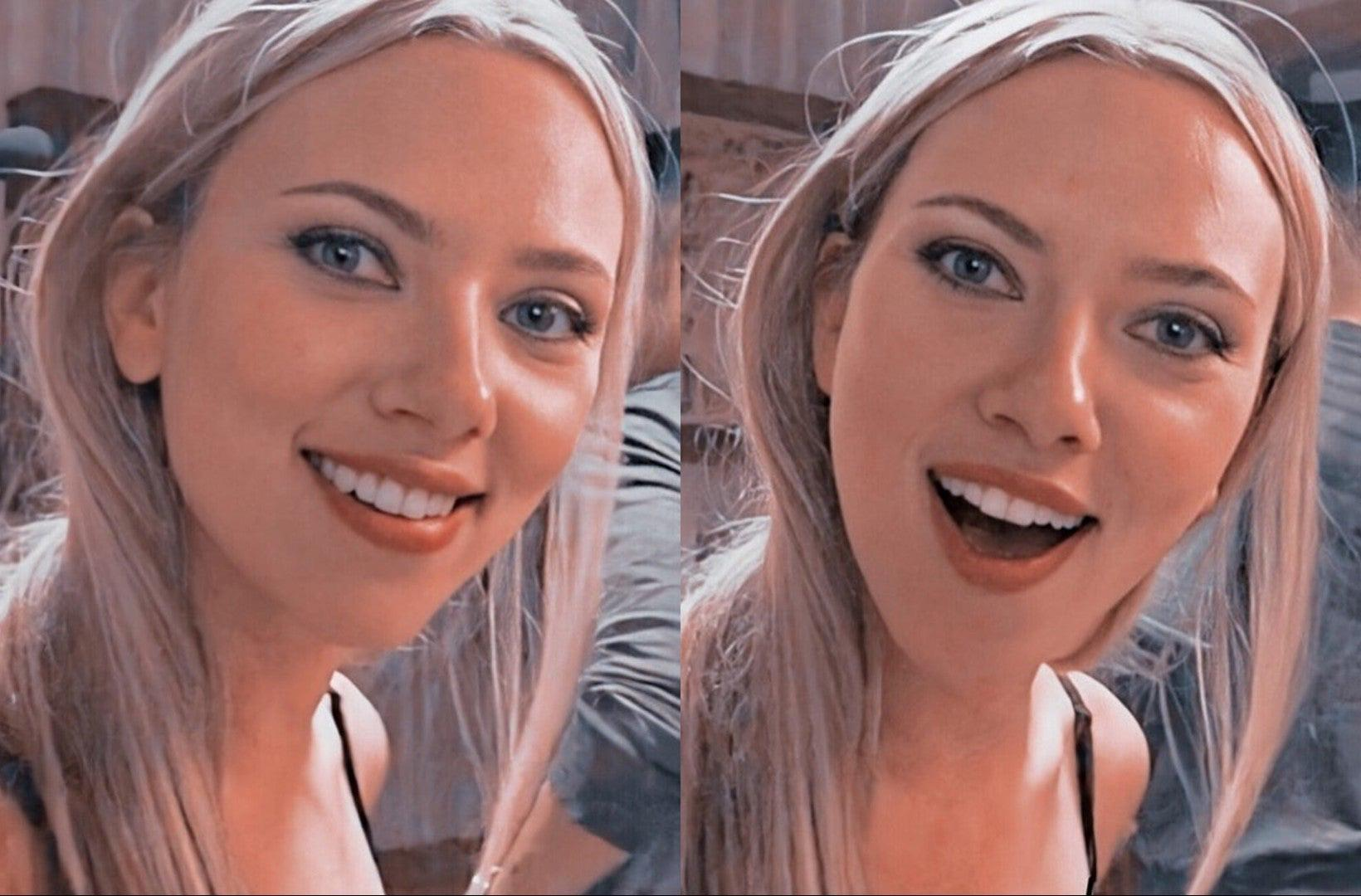 Surprised Scarlett Johansson Meme Template Surprised Scarlett Johansson Know Your Meme