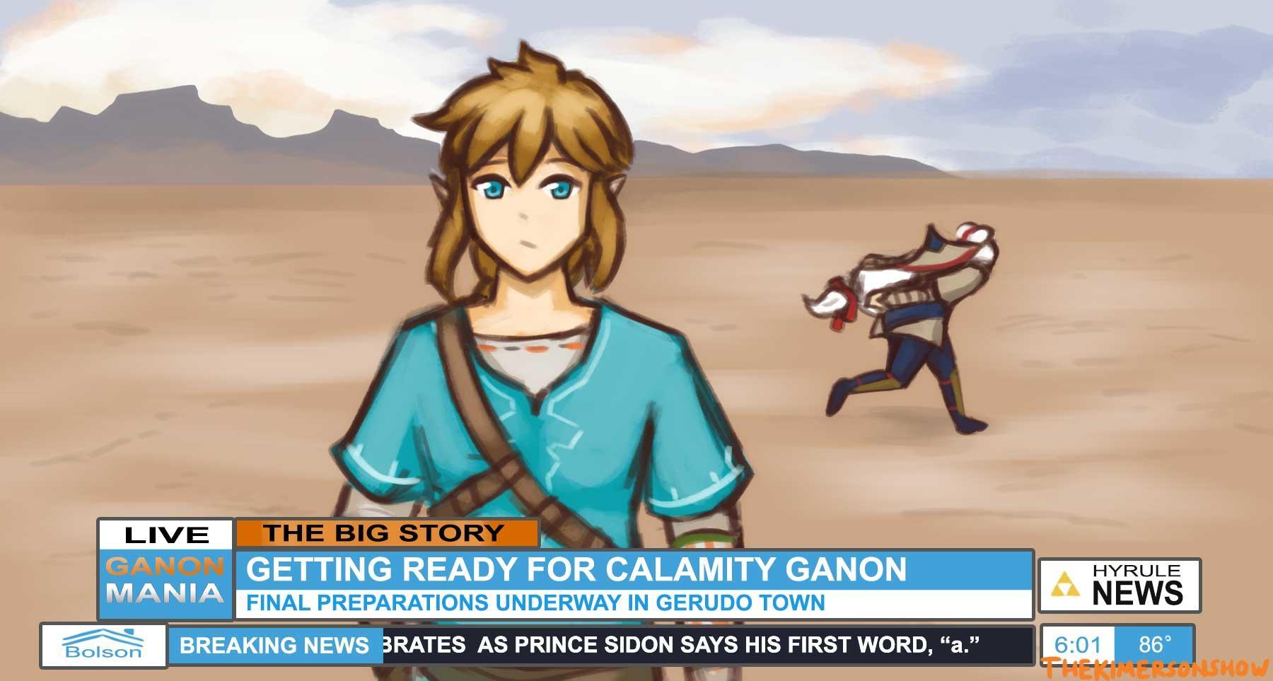 Impa S Naruto Run The Legend Of Zelda Breath Of The Wild Know Your Meme