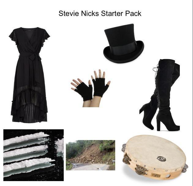Stevie Nicks Starter Pack R Starterpacks Starter Packs Know Your Meme