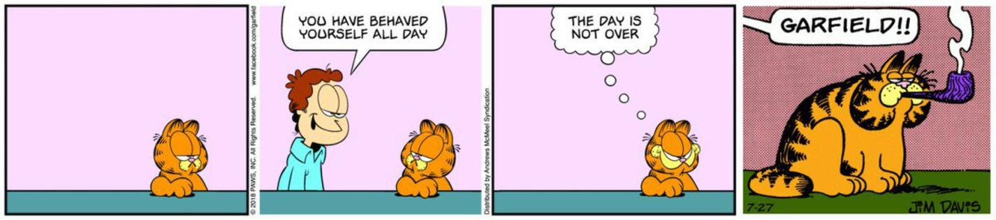 Pipe Garfield Meme 2 Garfield Last Panel Replacements Know Your Meme