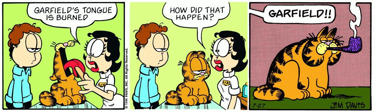 Pipe Garfield Meme 6 Garfield Last Panel Replacements Know Your Meme