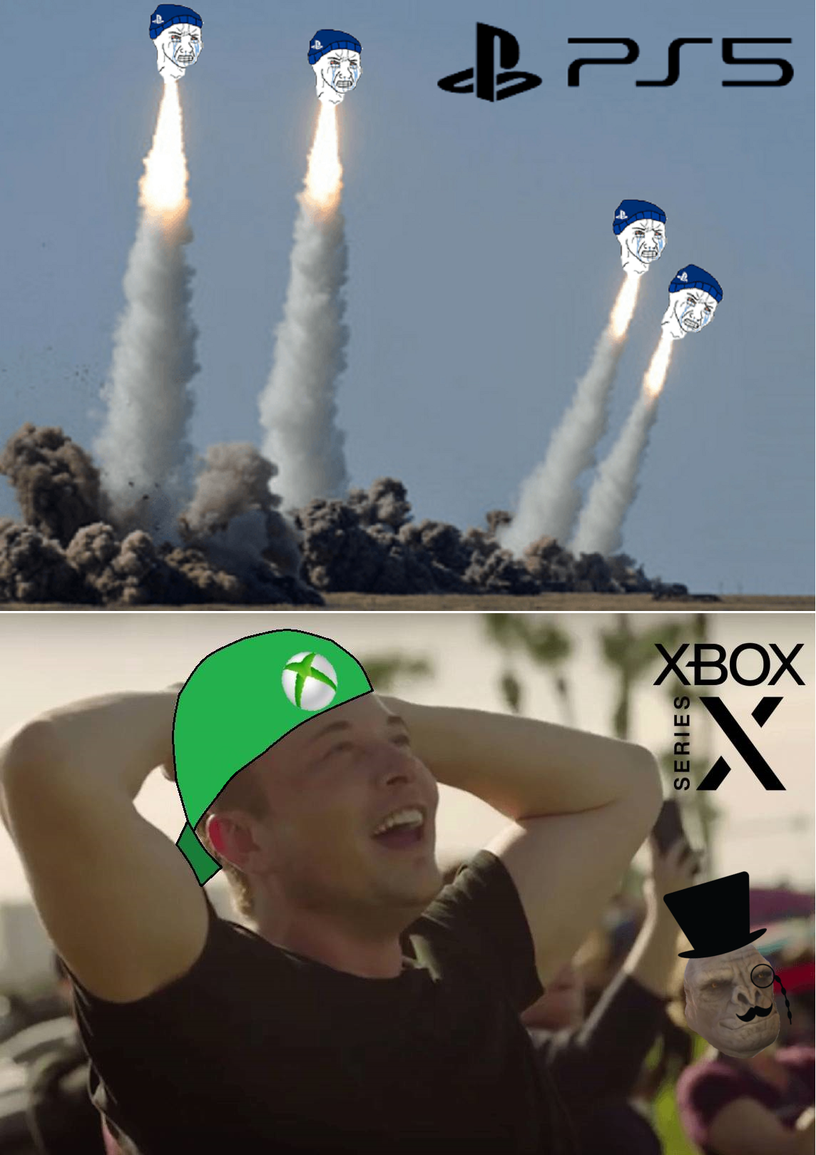 The biggest launch in history   Console Wars / Console Debates   Know Your  Meme