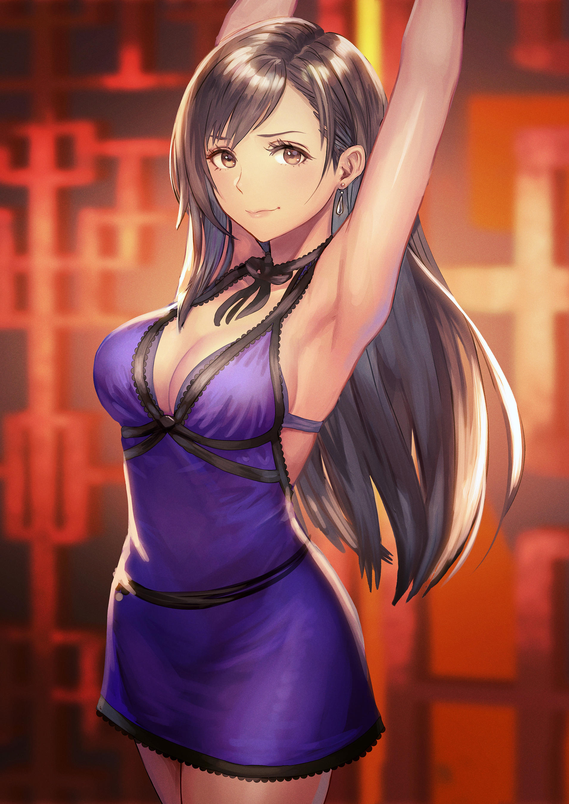 Dress Up Tifa By あんべよしろう Final Fantasy Vii Remake Know Your Meme