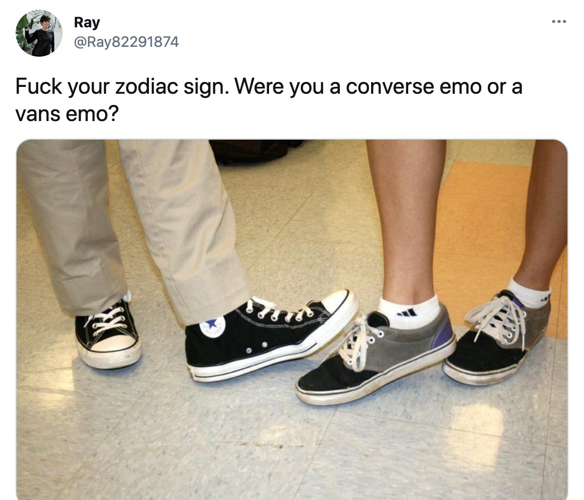 Converse vs. vans | Emo | Know Your Meme