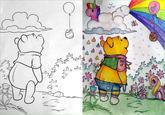 Cartoon Art Mammal Vertebrate Drawing Child Flower Illustration Sketch Plant Flora Design Childrens Coloring Book