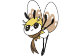 dfe6bf83 Pokémon Sun and Moon Honey bee Bee yellow mammal cartoon insect  invertebrate vertebrate membrane winged insect