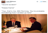 The Trump Zone Trumpromney Dinner Photo Know Your Meme
