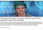 Ninja YouTube Comment | Ligma | Know Your Meme