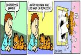 Deflated Garfield Original Comic Strip 03 24 1993 Garfield Last Panel Replacements Know Your Meme