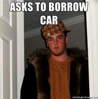 ASKS TO BORROW CAR memegenerator.ne Kyle Craven facial hair fur