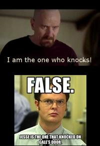 schrute meme Dwight false