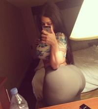 shot booty self Ass selfies big