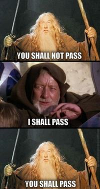 You Shall Not Pass Image Gallery List View Know Your Meme