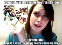 Overbearing girlfriend