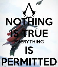 Nothing Is True Everything Is Permitted Image Gallery List View